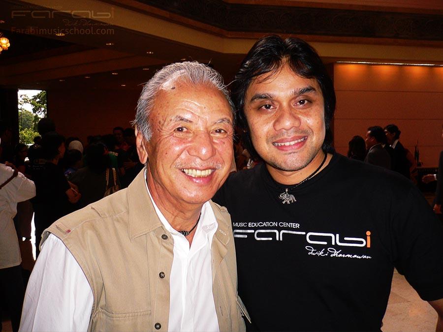 Sadao Watanabe dan Dwiki Dharmawan