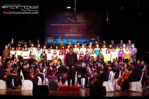 Spirit of Peace Concert Orkes SImfoni Remaja Jakarta